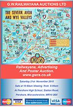 Railwayana Auction November 2015