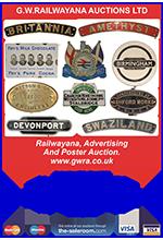 Railwayana Auction May 2014