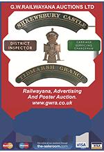 Railwayana Auction November 2013