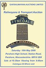 Railwayana Auction May 2008