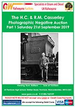 Railwayana Auction September 2019