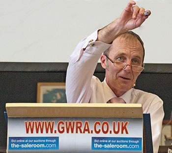 Simon Turner Auctioneer GWRA Worcestershire