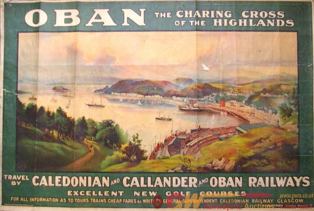 Poster, Q/R Size, Caledonian, Callander & Oban