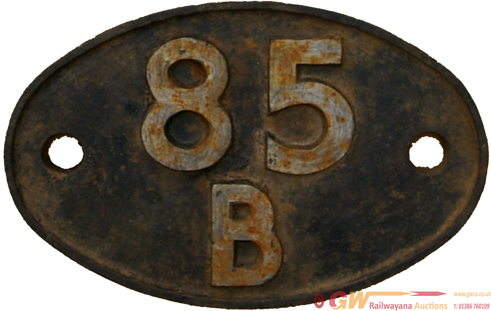 Shedplate 85b, Gloucester Horton Road From 1948