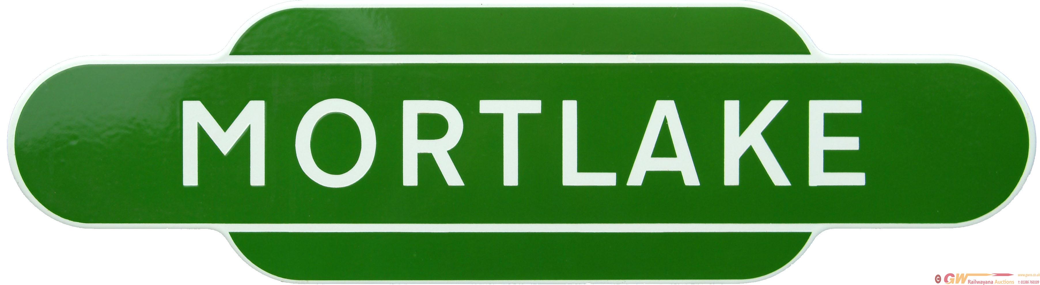 Totem, BR(S) MORTLAKE, F/F. Ex LSWR Station