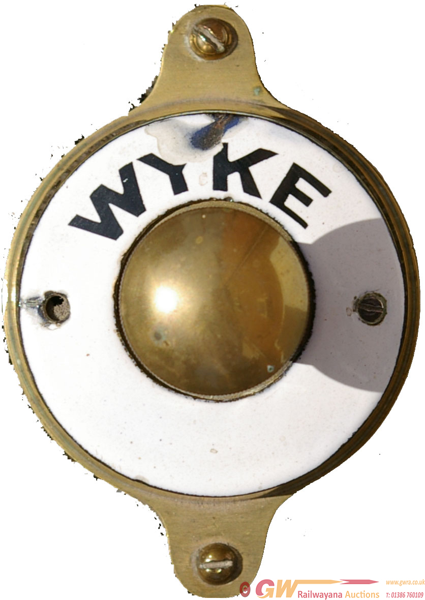 Southern Railway Brass Plunger With Enamel