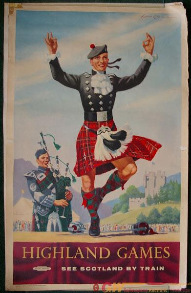 Poster, British Railways D/R Scottish Region
