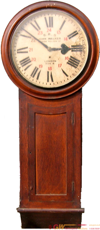 LBSCR 18 Longcase Clock No 334b. Ex Newhaven