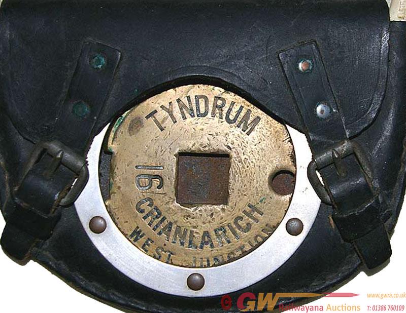 Tyers Brass Tablet TYNDRUM - CRIANLARICH WEST