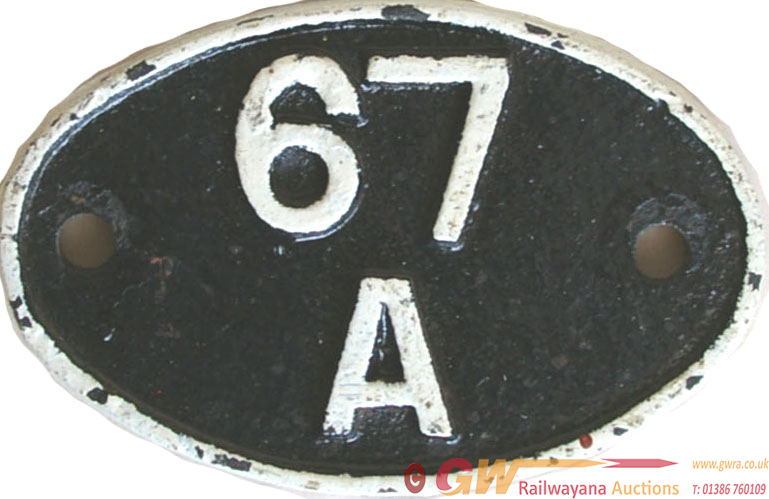 Shedplate 67a, Corkerhill From 1948 Until May