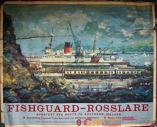 Poster, British Railways Q/R Western Region