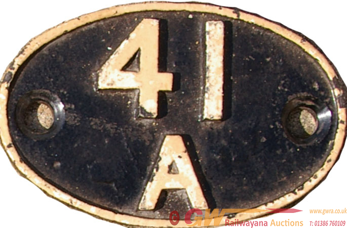 Shedplate 41a, Sheffield Darnall From June 1955