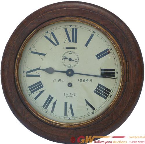 BR(E)  8 Inch Oak Cased Clock No 13645 With A