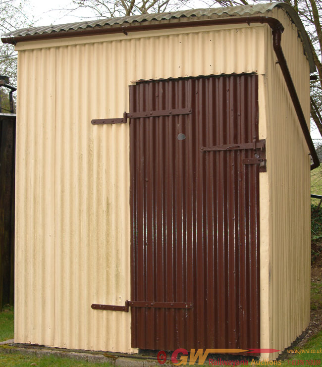 GWR Lamp Hut. A Complete, Authentic Lamp Hut In