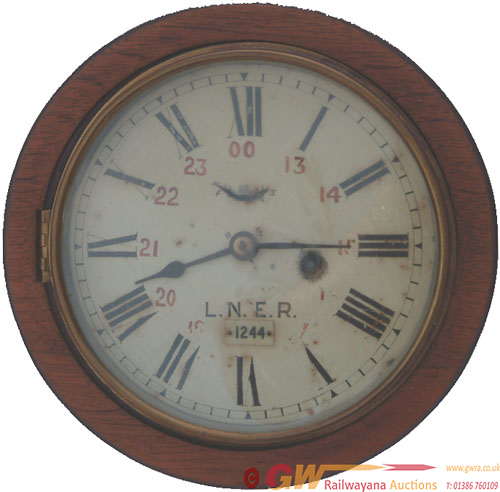 GER 8 Mahogany Cased Clock With Its Original Seth