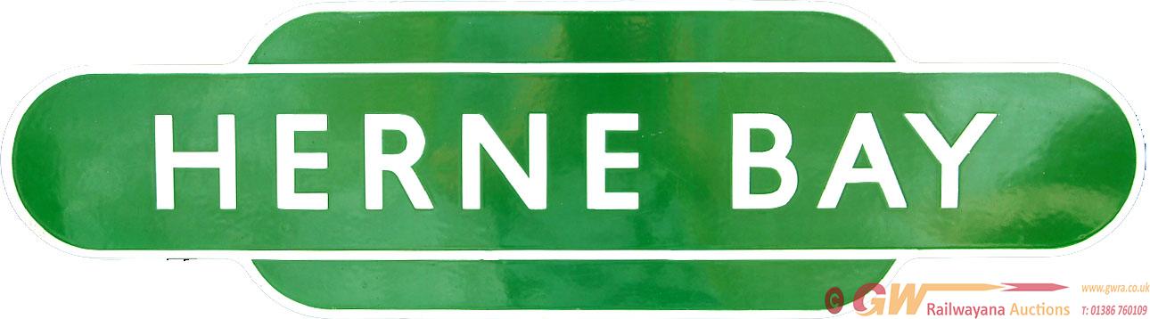 Totem BR(S) HERNE BAY, F/F, Dark Green Variety. Ex