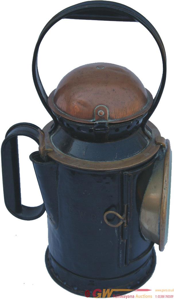 GWR Coppertop 3 Aspect Guards Handlamp Deeply