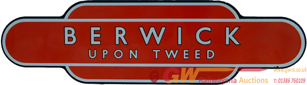 Totem, BR(NE)  BERWICK UPON TWEED F/F. Arguably