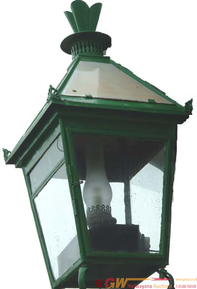 LSWR Platform Lamp Case Complete With A