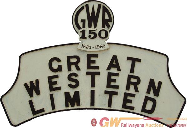 Cast Alluminium Headboard GREAT WESTERN LIMITED