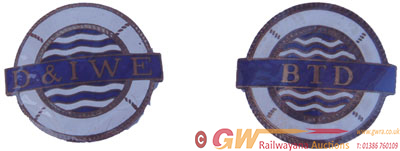 Badges, Qty 2 Comprising Docks & Inland Waterways