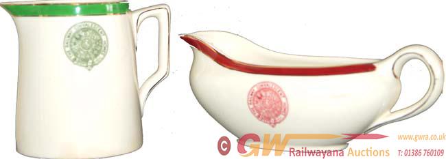 Railway Convalescent Home China Ware Comprising A