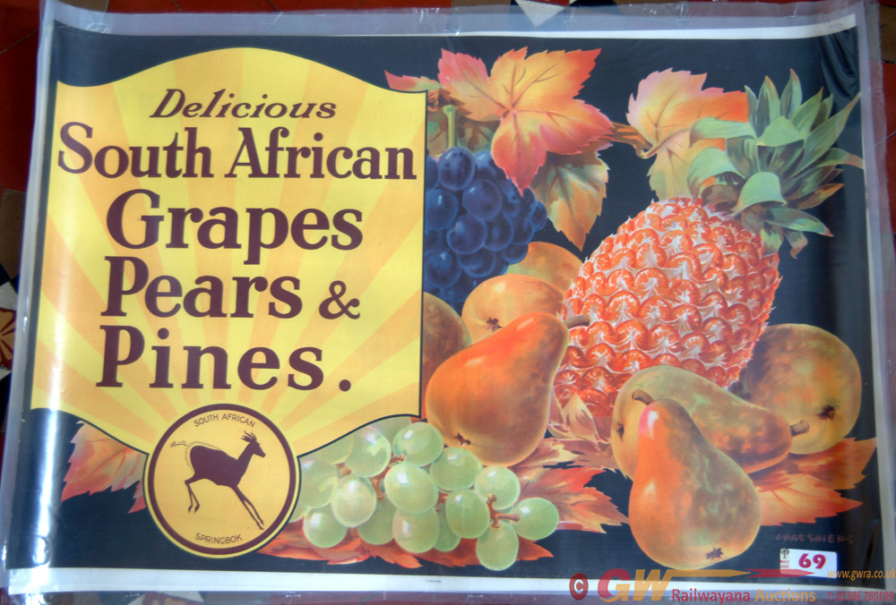Poster, South African Advertising Measuring