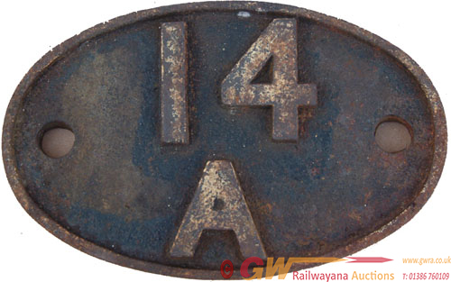 Shedplate 14a, Cricklewood Until May 1973. Totally