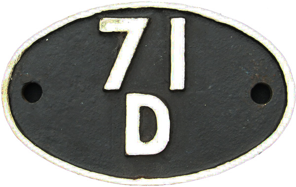 Shedplate 71d, Fratton From 1948 Until September