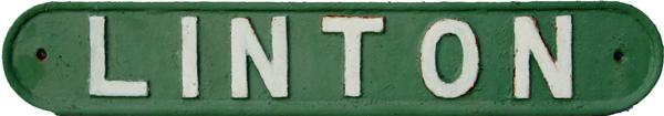 London & North Eastern Railway C/I Seatback