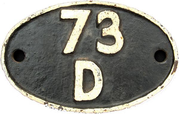 Shedplate 73d, Gillingham Until June 1959 And Then