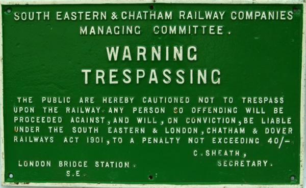 South Eastern & Chatham Railway, C/I Trespass