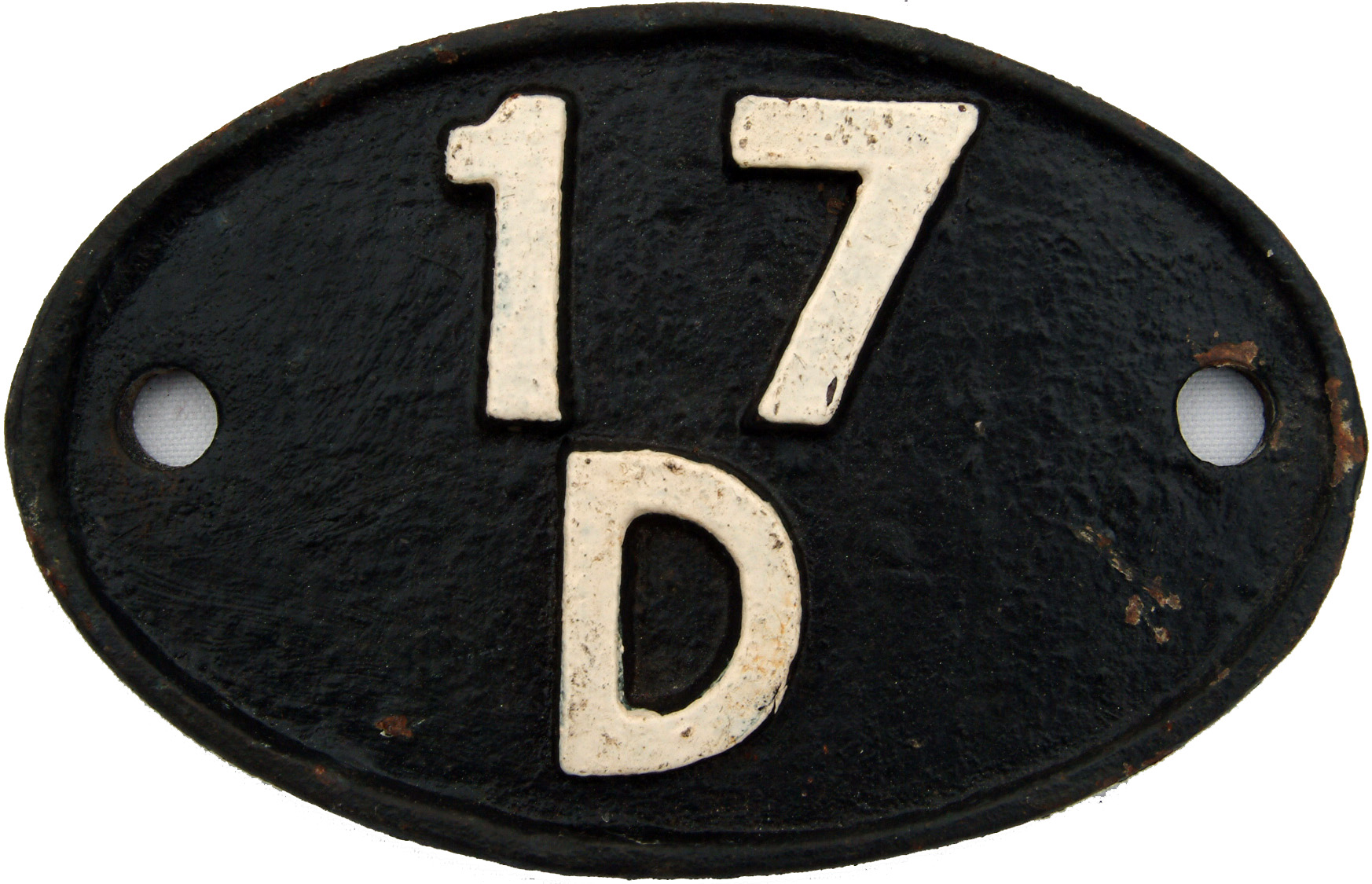 Shedplate 17d, Rowsley From 1948 Until April 1958
