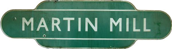 Totem, BR(S) MARTIN MILL, F/F. Ex SECR Station