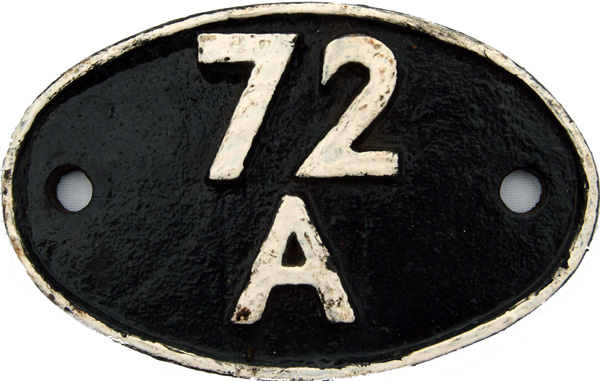 Shedplate 72a, Exmouth Junction From 1948 Until