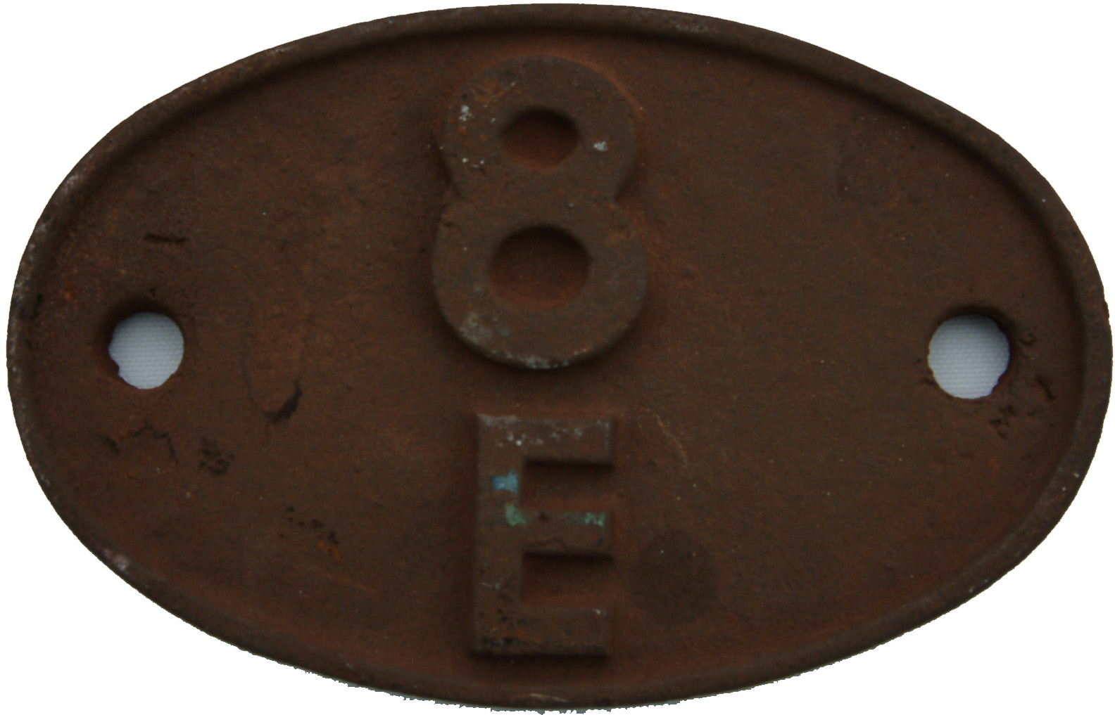 Shedplate 8e, Brunswick From May 1950 Until April