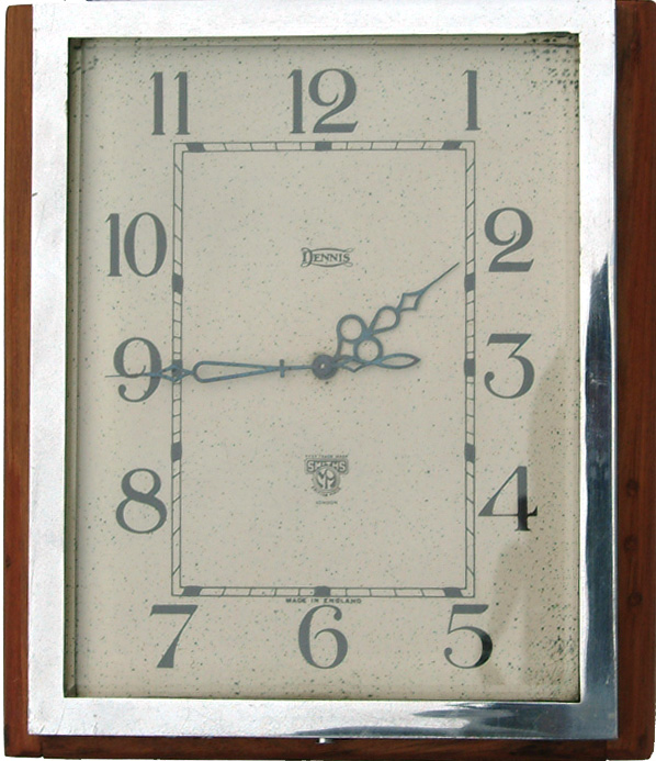 Dennis Brothers Of Guildford Motor Coach Clock By