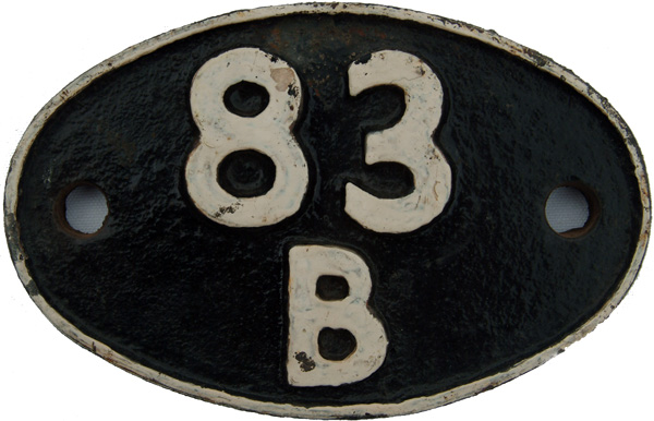Shedplate 83b, Taunton From 1948 Until June 1968.
