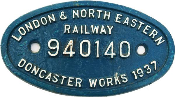 London & North Eastern Railway C/I 9 X 5 P.W.