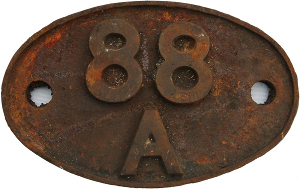 Shedplate 88a, Cathays Until December 1957 And