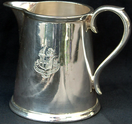 GWR Silverplate Milk Jug Bearing The GWR Hotels