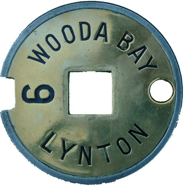 Lynton & Barnstaple Railway Steel & Brass Tyers No