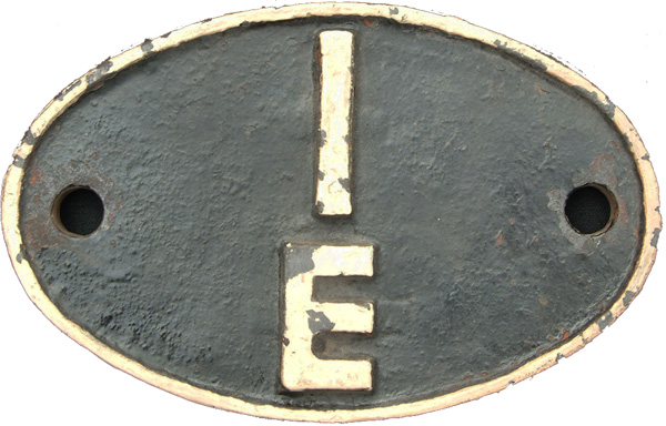 Shedplate 1e, Bletchley From March 1952 Until May