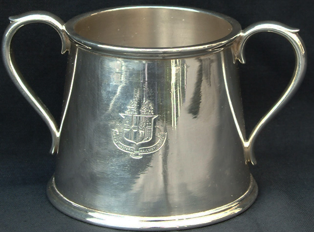 GWR Silverplate, Two Handle Sugar Bowl Bearing The