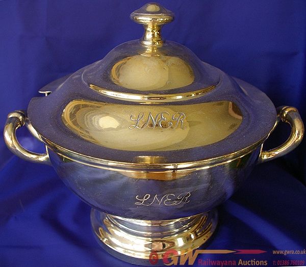 LNER Magnificent Silverplate Tureen Complete With