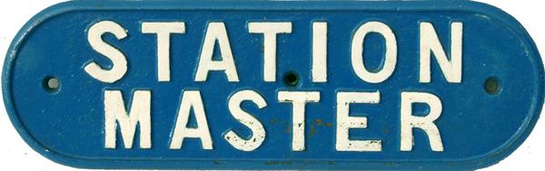 London & North Eastern Railway C/I Doorplate