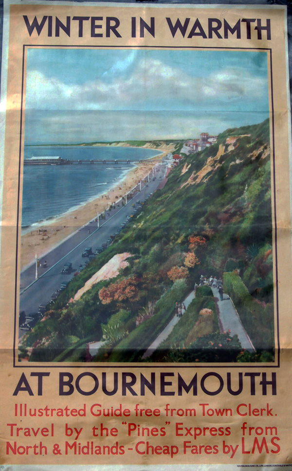 Poster LMS D/R 'Winter In Warmth At Bournemouth,