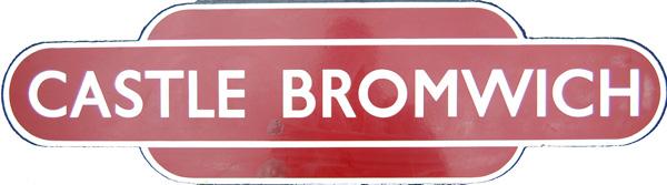 Totem, BR(M) CASTLE BROMWICH, H/F. Ex Midland