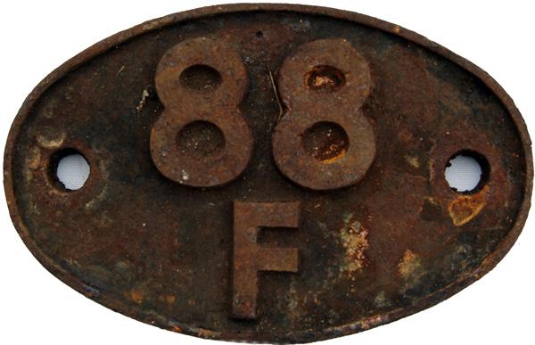 Shedplate 88f, Treherbert Until October 1967.