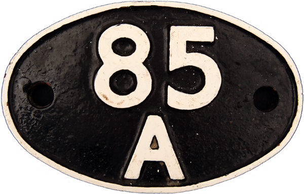 Shedplate 85a, Worcester Until May 1973.